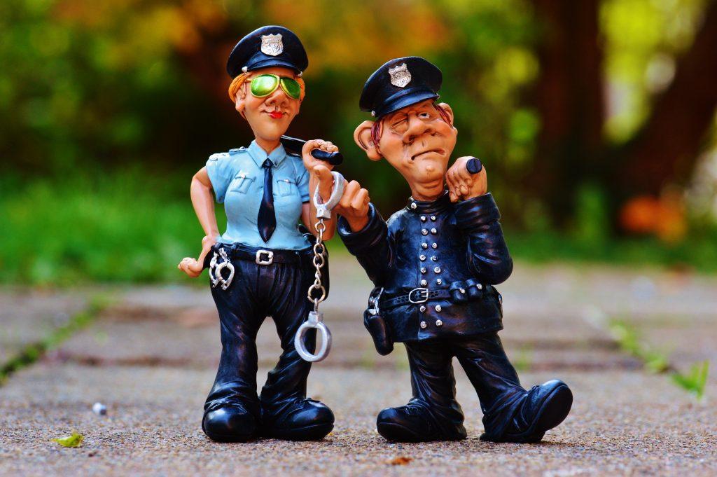 politie poppetjes